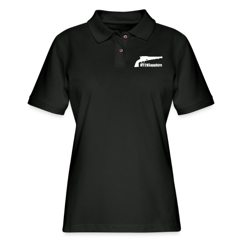 Remington 1858 Revolver - Women's Pique Polo Shirt