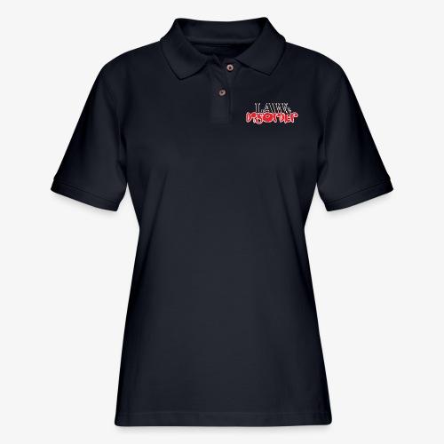 Law DISORDER Logo - Women's Pique Polo Shirt
