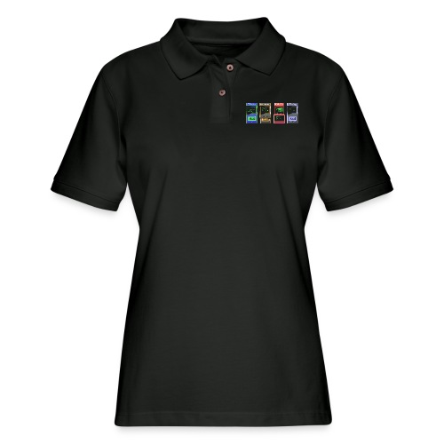 Arcade time - Women's Pique Polo Shirt