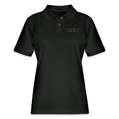 fundations png - Women's Pique Polo Shirt