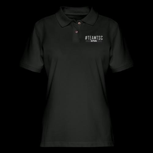 TeamTSC 01b - Women's Pique Polo Shirt
