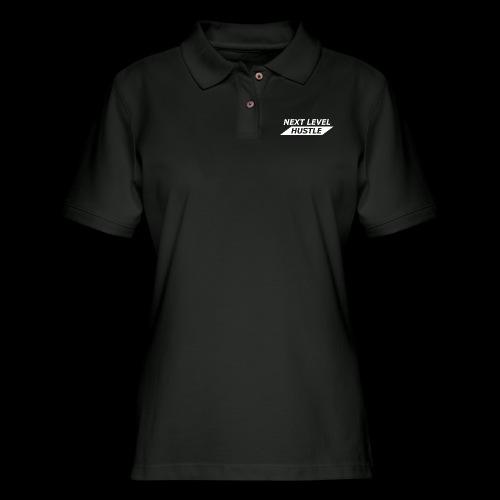 NEXT LEVEL HUSTLE - Women's Pique Polo Shirt