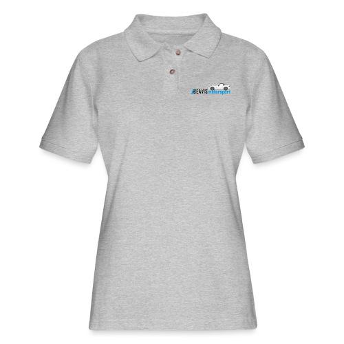 ND Text Logo - Women's Pique Polo Shirt