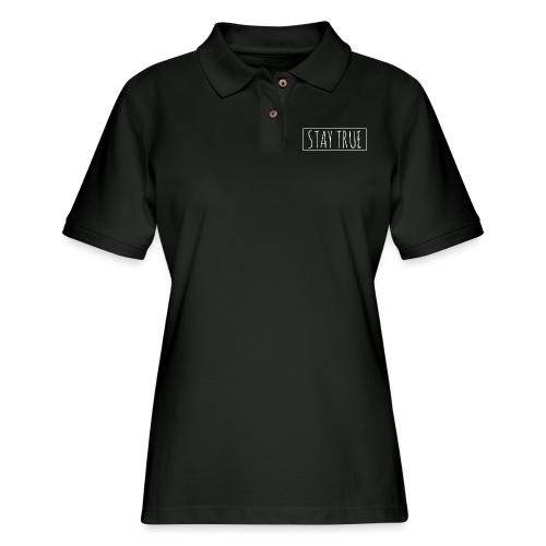 Stay True - Women's Pique Polo Shirt