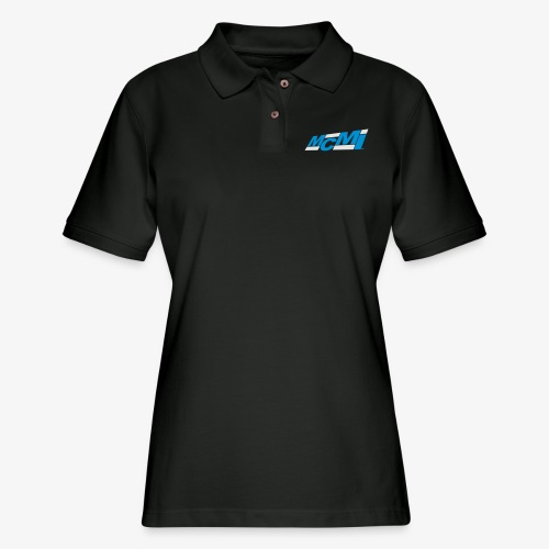 mcmiepmdlogo2 - Women's Pique Polo Shirt