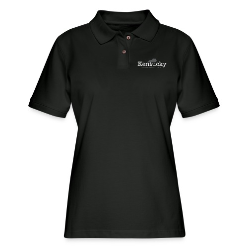 KY - Where Bourbon Outnumbers People Two to One - Women's Pique Polo Shirt