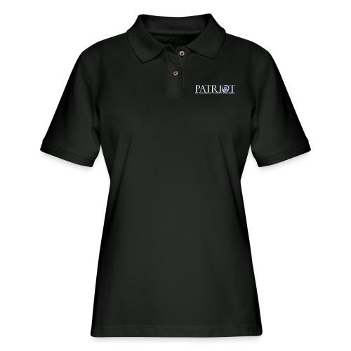 PATRIOT-SAM-USA-LOGO-REVERSE - Women's Pique Polo Shirt