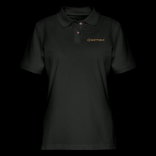 Sagittarius - Women's Pique Polo Shirt