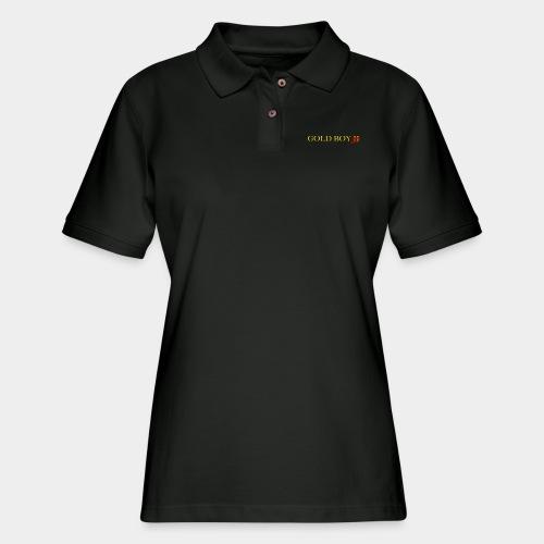 Gold Boy One - Women's Pique Polo Shirt