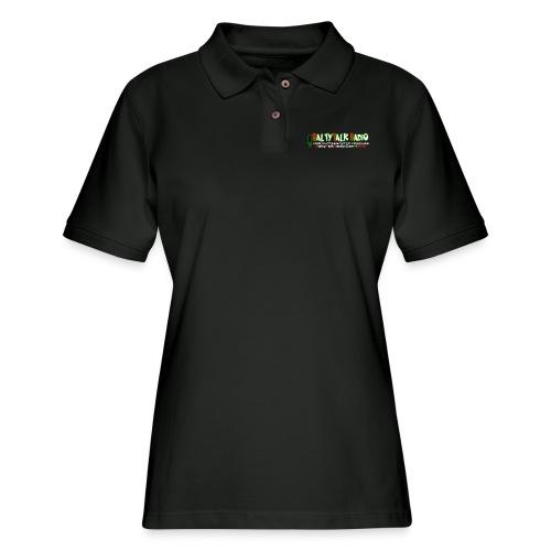 str front png - Women's Pique Polo Shirt