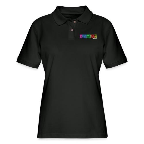 The Dirty FM transparent - Women's Pique Polo Shirt