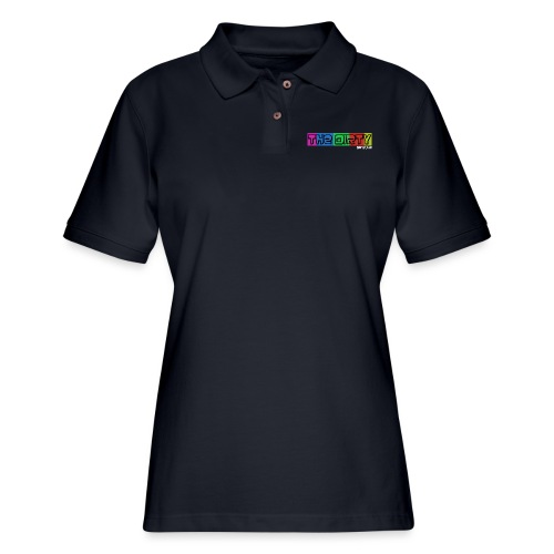 The Dirty FM transparent - Women's Pique Polo Shirt