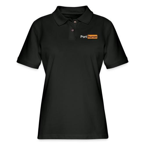 Port Huron Parody - Women's Pique Polo Shirt