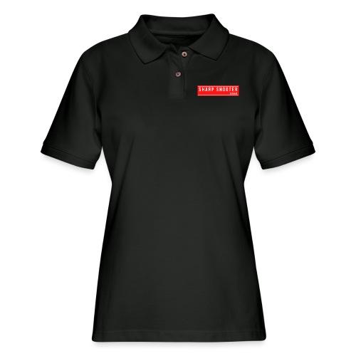 SHARP SHOOTER BRAND 1 - Women's Pique Polo Shirt