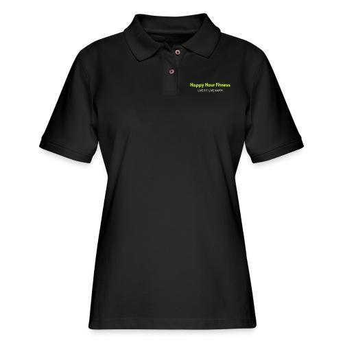 HHF_logotypeandtag - Women's Pique Polo Shirt