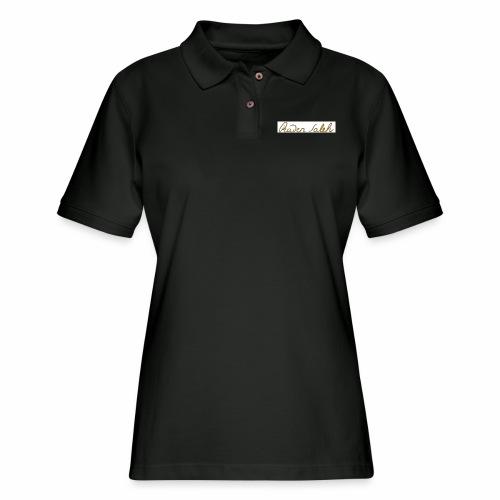 raden saleh signature shirts gross - Women's Pique Polo Shirt