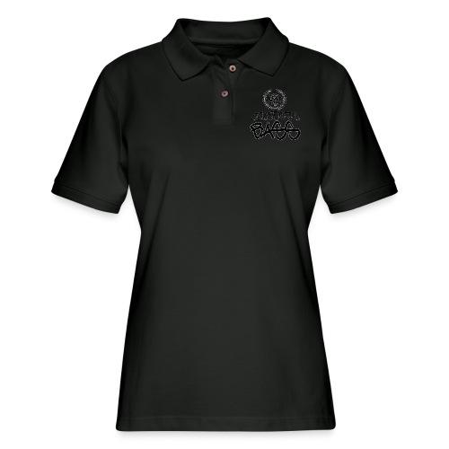 BEATDOWN BLACK LOGO - Women's Pique Polo Shirt