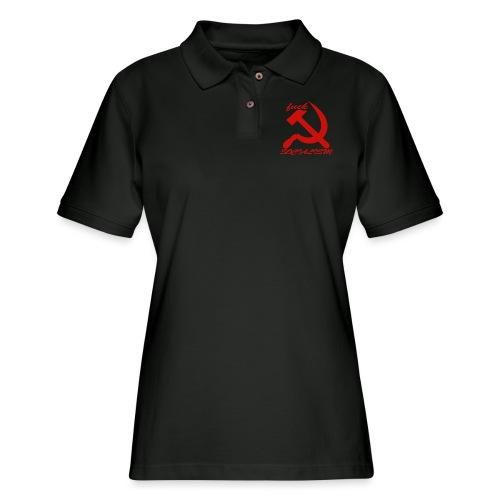 fuck socialism - Women's Pique Polo Shirt