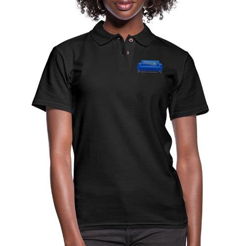 Blue Couch - Women's Pique Polo Shirt