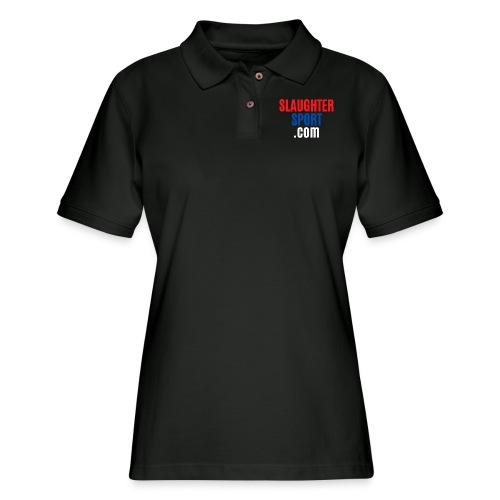 SLAUGHTERSPORT.COM - Women's Pique Polo Shirt