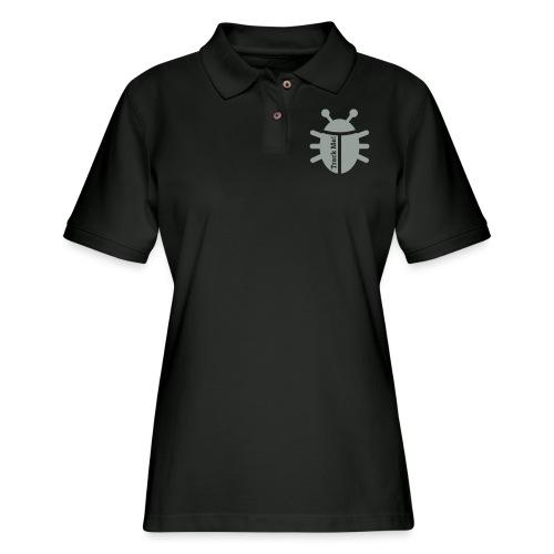 Tracking Bug - Women's Pique Polo Shirt