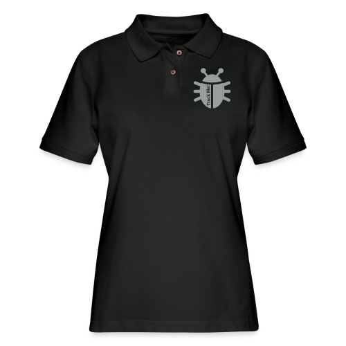 Tracking Bug - Women's Pique Polo Shirt