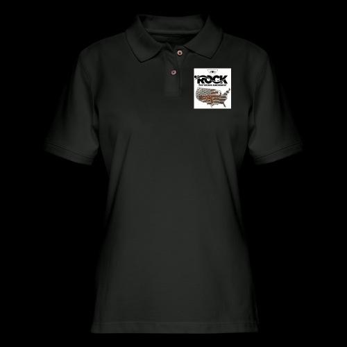 Eye Rock the 2nd design - Women's Pique Polo Shirt