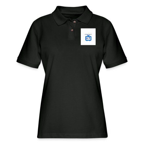OdogVlogsTv Offical Logo - Women's Pique Polo Shirt