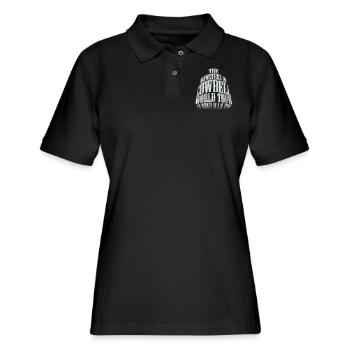 monstersofcowbellfront - Women's Pique Polo Shirt