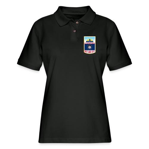 Utah - Salt Lake City - Women's Pique Polo Shirt