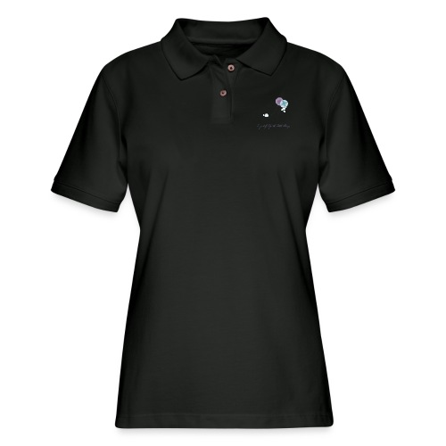 Be grateful for the little things - Women's Pique Polo Shirt