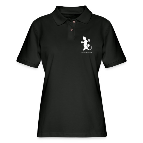 tropical travel - Women's Pique Polo Shirt