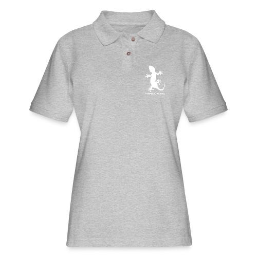 tropical travel - Women's Pique Polo Shirt