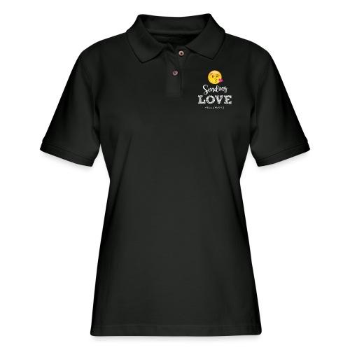 Sending Love - Women's Pique Polo Shirt