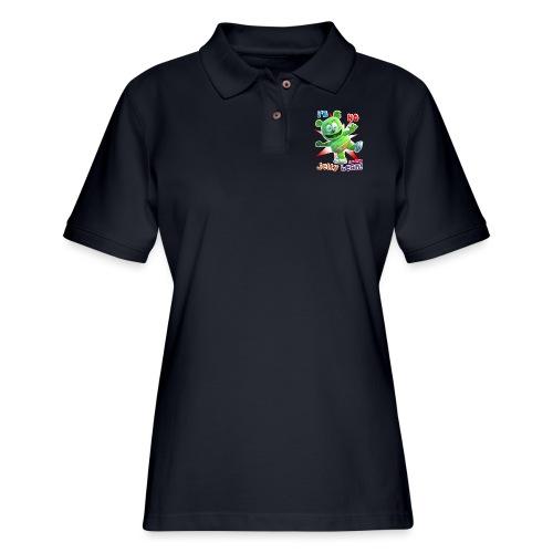 I'm No Jelly Bean - Women's Pique Polo Shirt