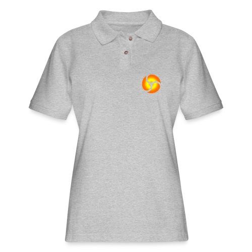 triskele harmony - Women's Pique Polo Shirt