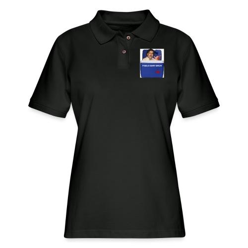 Pablo Esky Bruh - Women's Pique Polo Shirt
