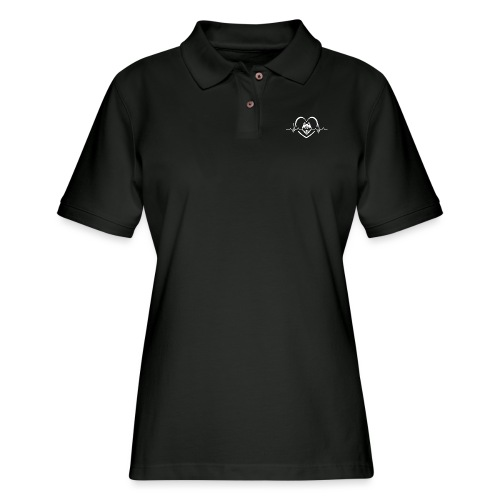 Love every beat for Husky T-Shirt - Women's Pique Polo Shirt