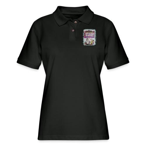 STEM - Design for NYG - Women's Pique Polo Shirt