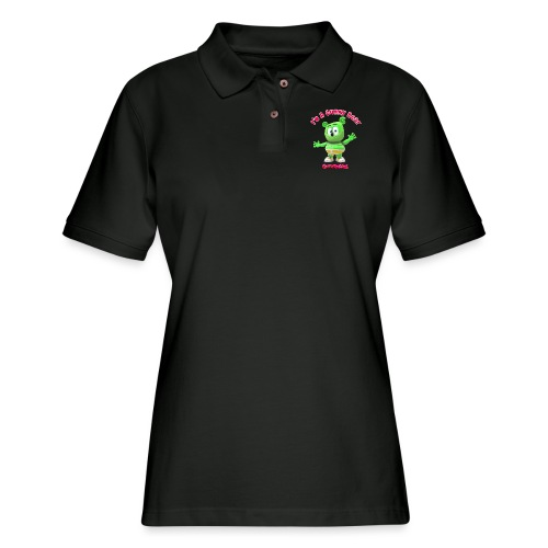 I'm A Gummy Bear - Women's Pique Polo Shirt