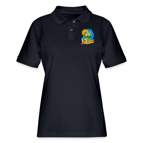 It's A Great Summer - Women's Pique Polo Shirt