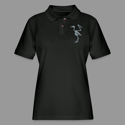 Vulture Bones - Women's Pique Polo Shirt