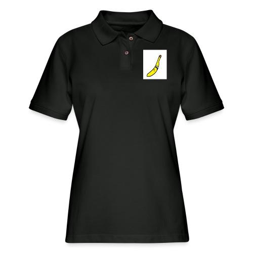 BANANA - Women's Pique Polo Shirt