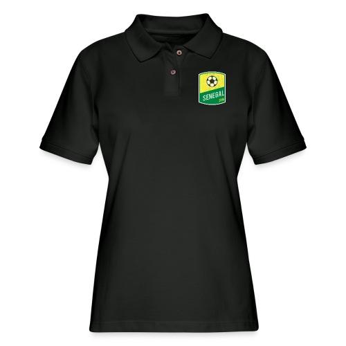 Senegal Team - World Cup - Russia 2018 - Women's Pique Polo Shirt