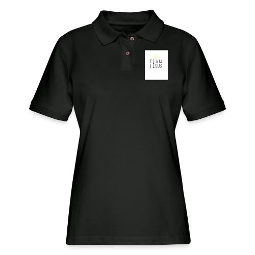 TEAM JESUS3 - Women's Pique Polo Shirt