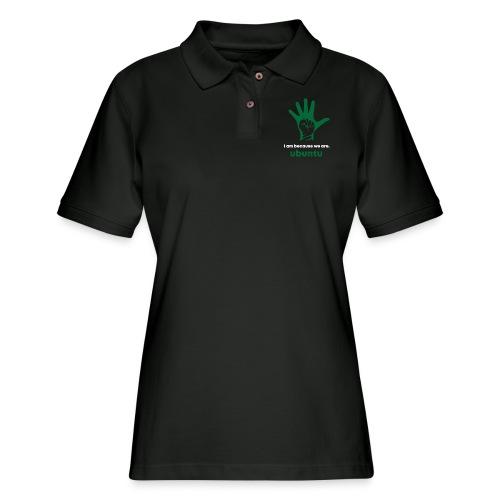 GreenHandUbuntu - Women's Pique Polo Shirt