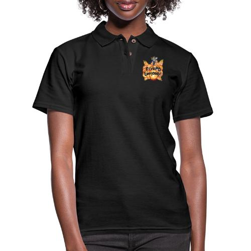 It's FivePD Everybody! - Women's Pique Polo Shirt