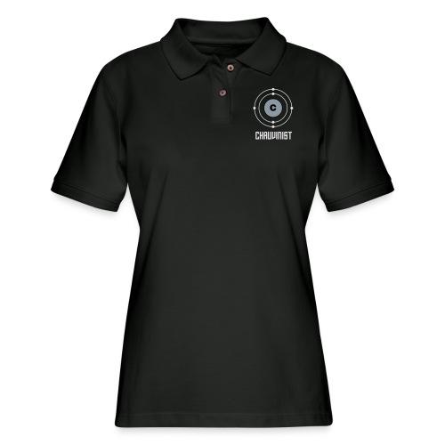 Carbon Chauvinist Electron - Women's Pique Polo Shirt