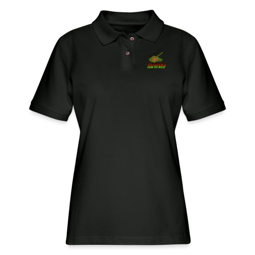Tankers Own The Night - Women's Pique Polo Shirt