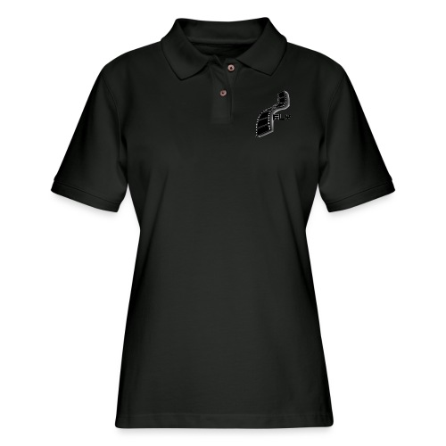 Fly LOGO - Women's Pique Polo Shirt